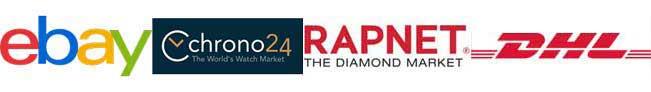 Ebay Chrono24 Rapnet DHL Trustpilot